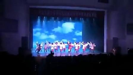 中央民族大学舞蹈学院院庆50周年刘福洋表演《奔腾》正面版_标清