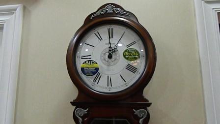 欧式挂钟木质客厅报时挂钟