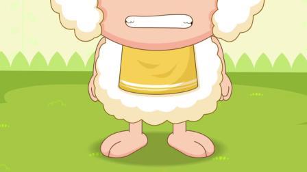喜羊羊:灰太狼真是过分,使用诡辩栽赃陷害,抓住了小羊!