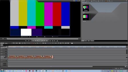 视频编辑彩条类型的应用选择