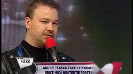 Andrei Teasca  moment inedit de magie