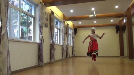 藏族舞蹈  玛尼情歌  编舞  刘福洋  习舞  月亮