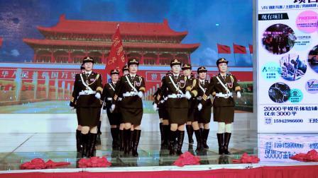 猎鹰女子仪仗队分列式表演