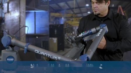 QuantumS 搭配 FAROBlu Laser Line Probe 和8轴简介