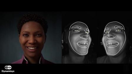 Dynamixyz to MetaHumans facial animation