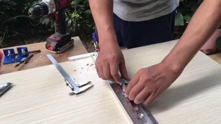 木工三合一打孔器简易排钻-芳村木友