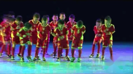 2021最新幼儿园六一儿童节舞蹈《足球来了》
