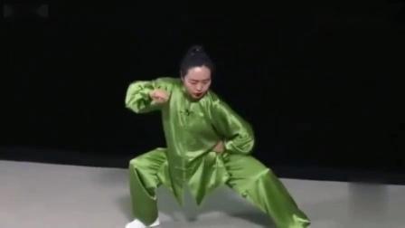 陈式太极拳老架一路74式——郑冬霞
