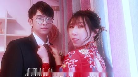 甜蜜蜜婚礼2021年2月15吕宗明&肖 娟喜结良缘   婚礼花絮