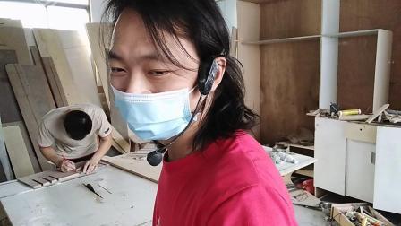 广东省三角丘村安装门视频,讲解安装门方法,培训安装门技术