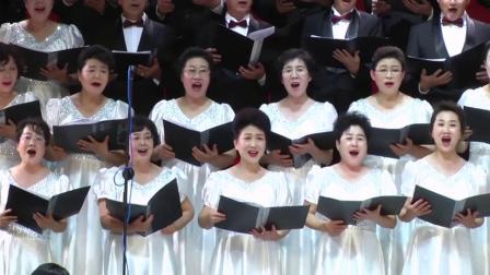 大连瑞笛合唱艺术团演唱《祖国颂》
