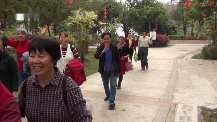 梧州市玫瑰湖公园《桃花朵朵开》陈二哥录制