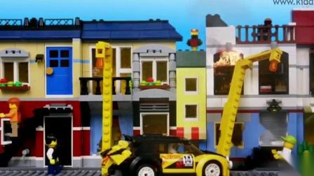 #乐高积木 #定格动画 #男孩玩具 #工程车玩具 #拼装玩具