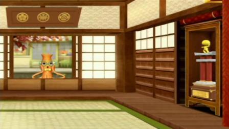 呜咪123:吉奥过关卡,用圆形封住风扇,顺利通过忍者试炼!