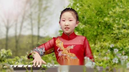 双排键演奏《我爱你中国》