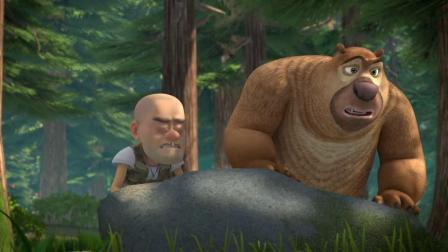 熊出没:洞洞幺初次执行任务,就惨遭失败,回家要挨骂了