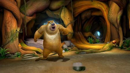 熊出没:燕窝丢了,光头强询问肥波,从熊熊手中夺回燕窝