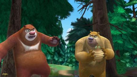 熊出没:锯子被熊熊弄坏,李老板还是会有办法的,斗不过老板啊