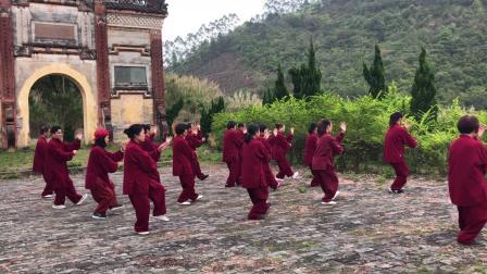 练习传统杨式太极拳28式(太极缘拳友)