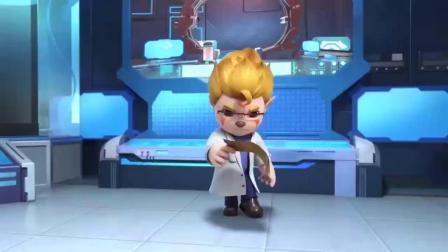 猪猪侠:小朋友都有元灵,只有乔贝利没有元灵,于是他变成坏博士