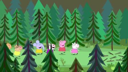 佩奇:对于晚间的游戏,小朋友们出奇意见一致,想唱首乒乓歌
