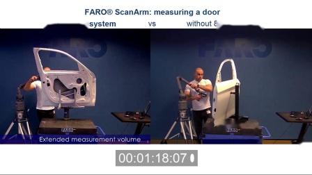 速度测试:8 轴 ScanArm 的工作速度快了多少?