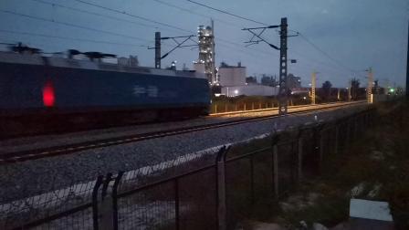 20200729 201907 阳安线HXD1货列出汉中站