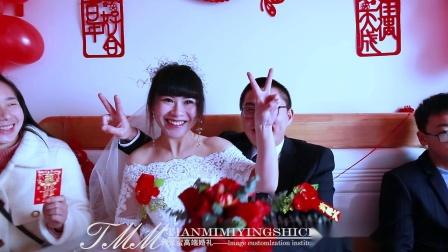 甜蜜蜜婚礼2020年腊月22 刘海洋&邹  欢喜结良缘 婚礼花絮