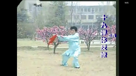 马春喜36式太极刀背向慢动有方位-初学者必读