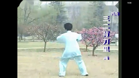 马春喜36式太极刀第四段29-36动
