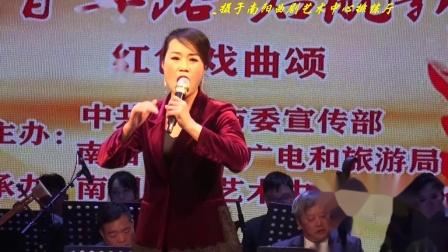 曲剧【洪湖赤卫队.月儿高高挂天上】一折 演唱:优秀青年演员陈大爽(卧龙老高摄制)。