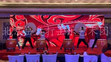 北京发布会开场战鼓北京男子开场演出北京战鼓演出