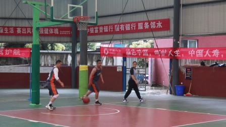 邻水县老体协篮球分会红色虎队对灰色法院队(2021.3.21)