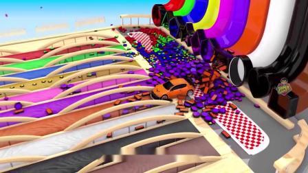 疯狂玩具车:帅气的赛道!