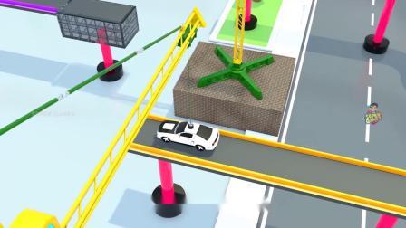 疯狂玩具车:小车子被吊起来了!