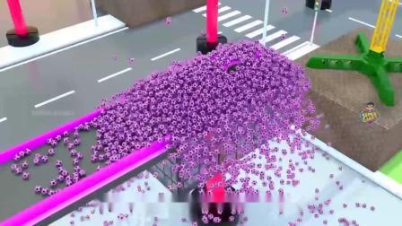 疯狂玩具车:喜欢这个赛道吗?!