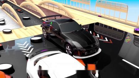 疯狂玩具车:风驰电掣的车子们