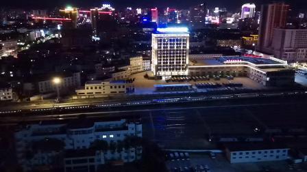 20200813 205024 西成高铁D1905次列车进汉中站