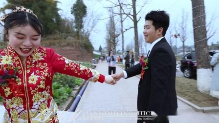 拔山甜蜜蜜婚礼2021年正月12 饶应林&段 颖 喜结良缘 婚礼 花絮