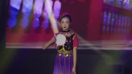 """江西省""""追梦少年""""少儿舞蹈大赛《维吾尔族小姑娘》---舞媚艺术中心"""