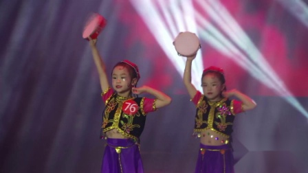"""江西省""""追梦少年""""少儿舞蹈大赛《快乐的小铃鼓》--- 九月半艺体教育"""