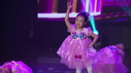 """江西省""""追梦少年""""少儿舞蹈大赛《粉可爱》--- 九月半艺体教育"""