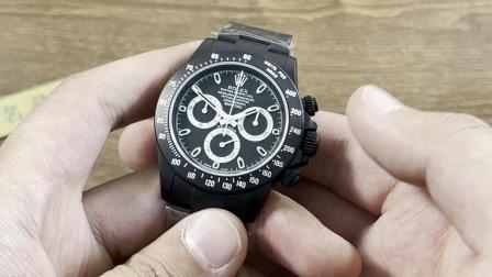 IPK名品交流:Bamford改装款劳力士迪通拿腕表