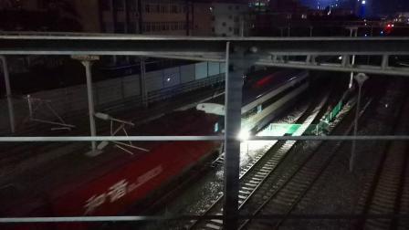 20200828 203301 阳安线HXD3D牵引轨道检测车出汉中站