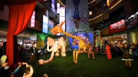 儿童剧木偶马戏演出活动,巡游演出服装定制,小萌鹿大型木偶马戏