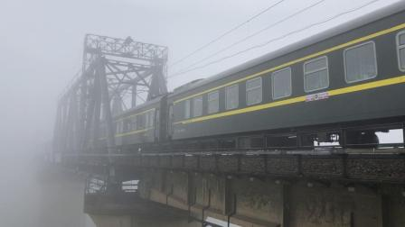 K769次 HXD1D0250 通过京广线K1562KM长沙浏阳河铁路大桥