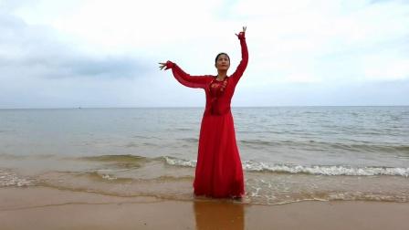 华夏乐舞《蓝色海湾·凤凰传奇》华芳·海南永庆寺海滩