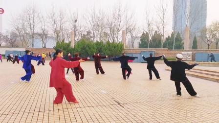 开发区老年体协 新编28式太极拳教学演练