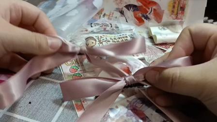 【呆】20r的手帐手作蝴蝶结福袋呀w(接题偶像活动自制食玩)