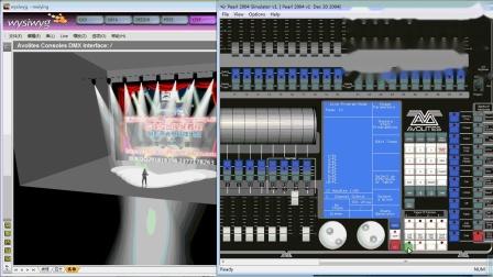 珍珠控台视频教程之使用左右箭头快速选择灯具定位